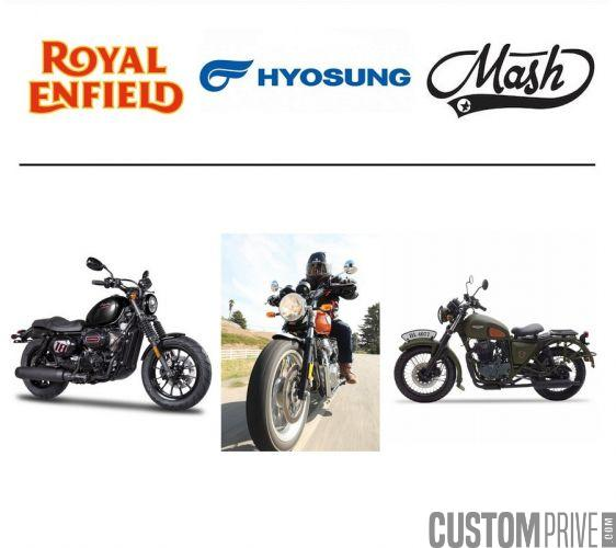 NICOLAS MOTOS / ROYAL ENDFIELD HYOSUNG MASH