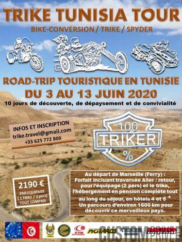 TRIKE TUNISIA TOUR