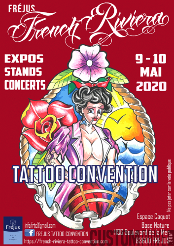 FRENCH RIVIERA CONVENTION TATTOO
