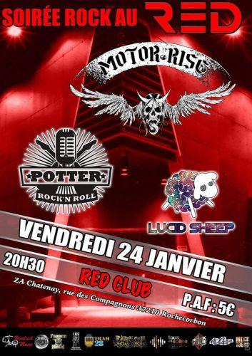 SOIREE ROCK AU RED