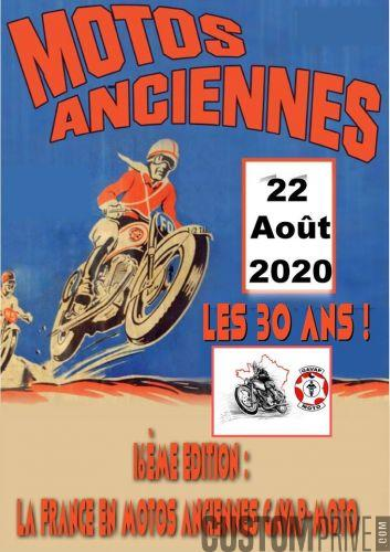 16EME EDITION LA FRANCE EN MOTOS ANCIENNES