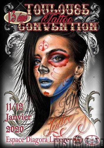 13EME CONVENTION TATTOO TOULOUSE