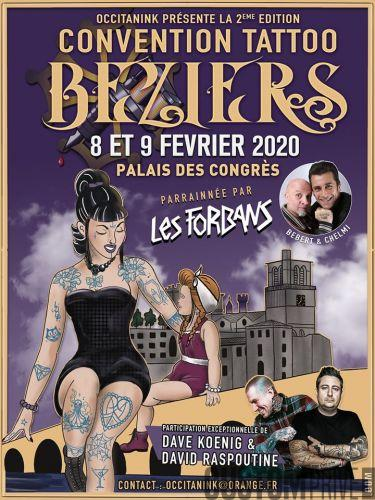 CONVENTION TATTOO BEZIERS