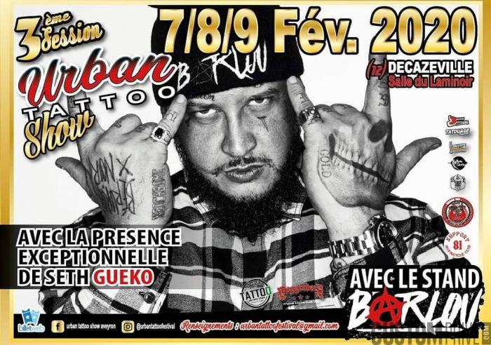 URBAN TATTOO SHOW AVEYRON
