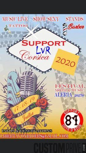 SUPPORT LIBERTA VOX RIDERS MC ALERIA 2020