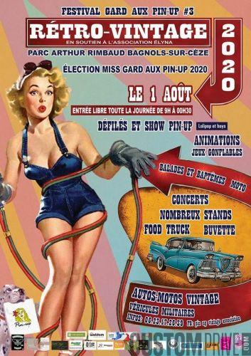 FESTIVAL GARD AND PIN UP