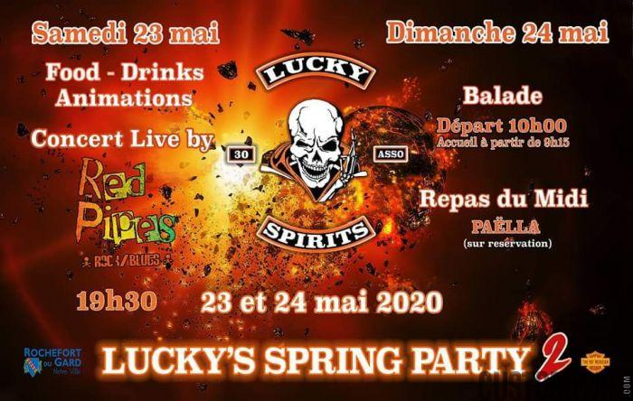 LUCKY'S SPRING PARTY