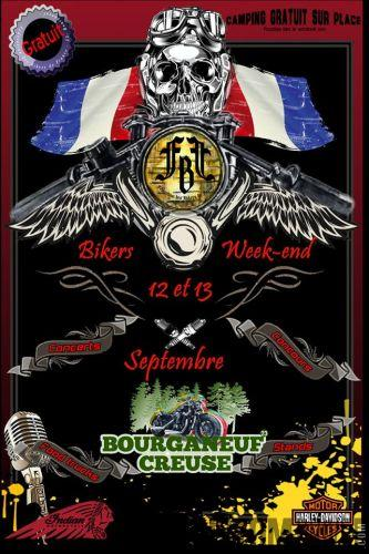 11, 12 & 13 Septembre, le Bikers WE organisé par la FBF